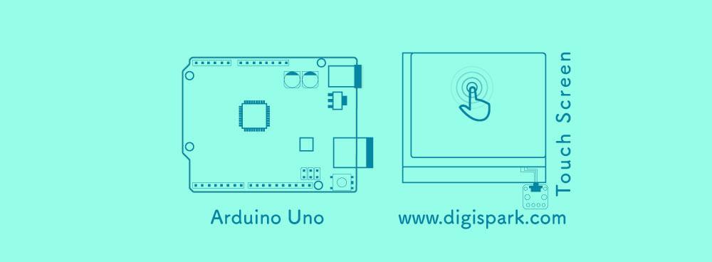 Nintendo DS touch-screen-arduino