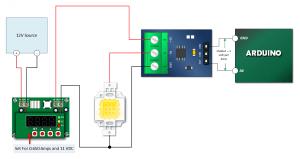 قرار گرفتن سنسور max417 در مدار