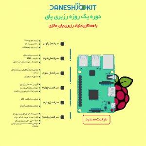 کارگاه رزبری پای - اینترنت اشیاء iot -Digispark