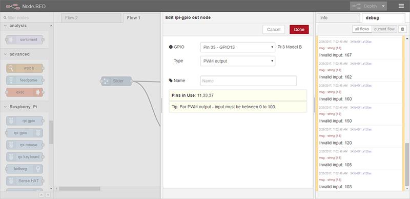 تنظیمات pwm در برد رسپبری پای - digispark