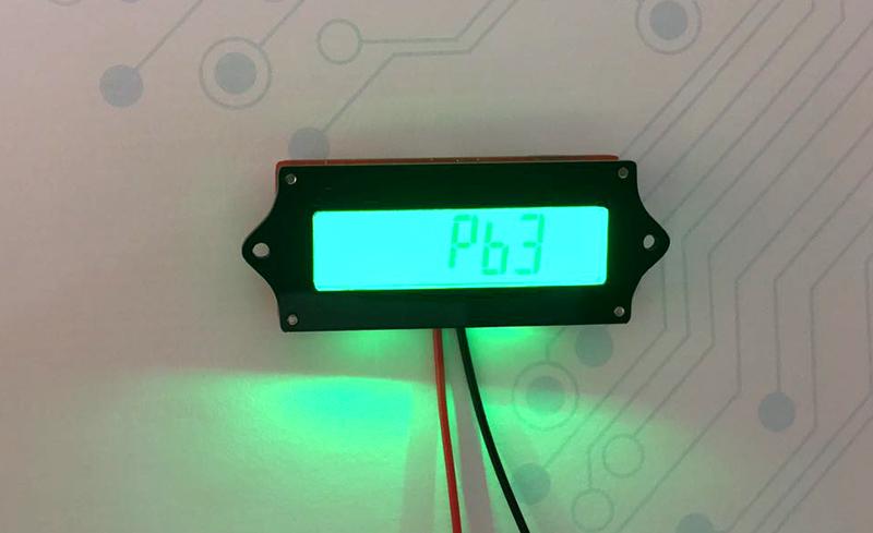 ماژول نمایشگر سطح شارژ باتری - دیجی اسپارک
