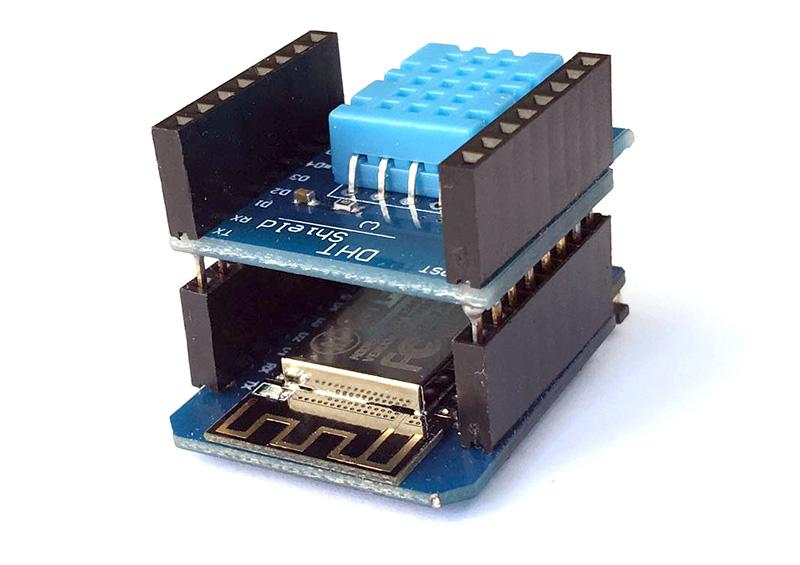مدیریت مصرف انرژی با برد کنترل اینترنت اشیا Wemos D1 Mini - digispark
