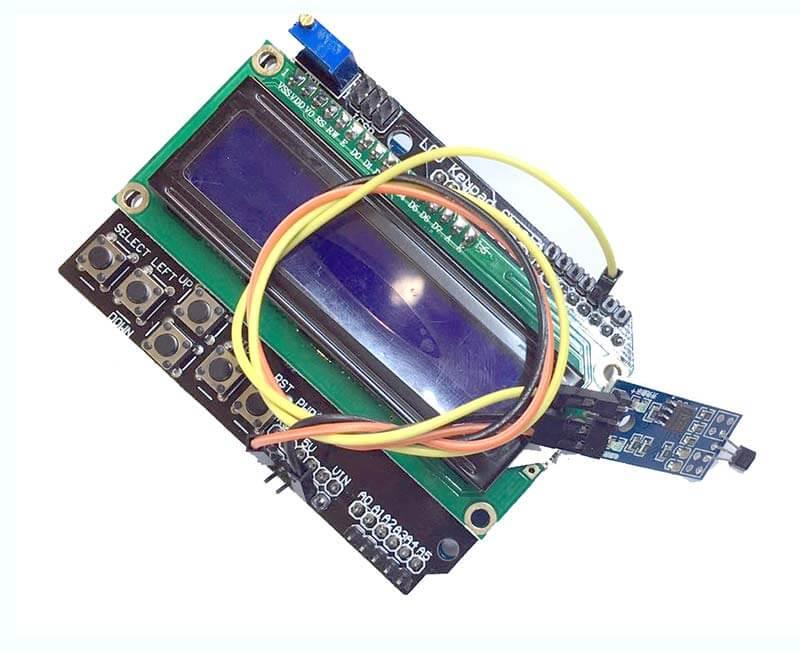 آموزش ساخت دور شمار فیجت اسپینر آردوینو Arduino Fidget Spinner RPM دیجی اسپارک