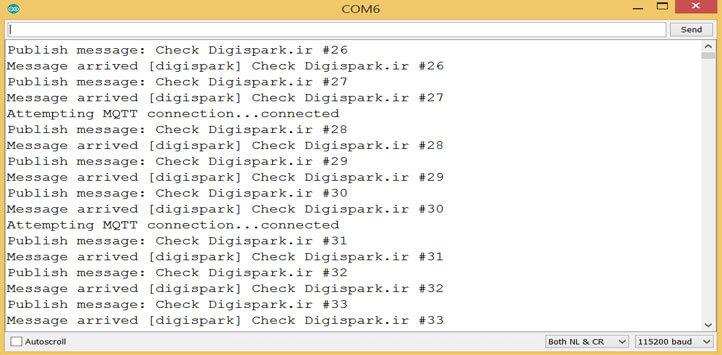 ارتباط آردوینو با نرم افزار اینترنت اشیاء Node Red با پروتکل MQTT -دانشجوکیت