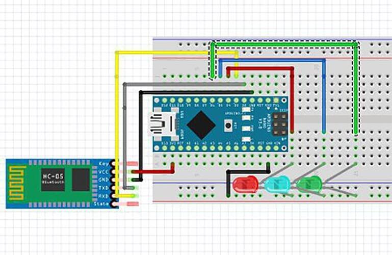 کنترل اشیاء با صدا توسط ماژول HC-05 با آردوینو Arduino Bluetooth -دیجی اسپارک