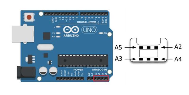آموزش اتصال کنترلر کنسول بازی نینتندو Nintendo Wii Nunchuk به آردوینو دیجی اسپارک