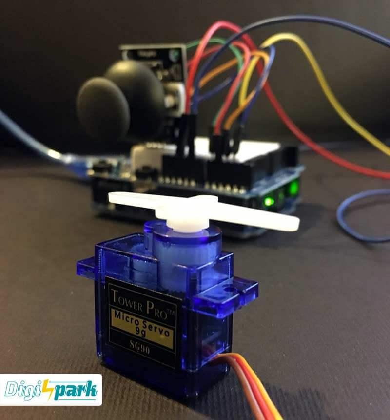آموزش راه اندازی ماژول جوی استیک JoyStick پکیج 37 سنسور آردوینو-دیجی اسپارک