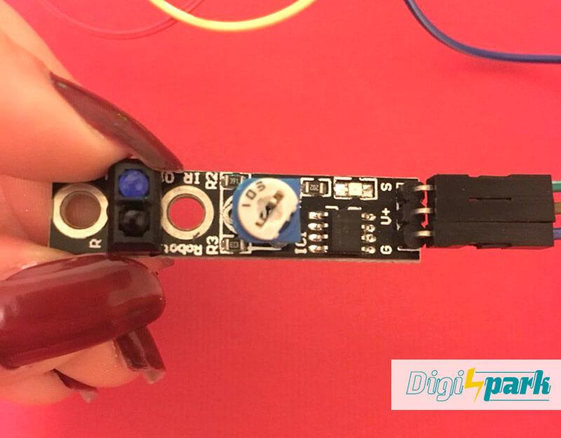 آموزش ماژول تشخیص مانع IR Tracking Module پکیج 37 سنسور آردوینو- دانشجو کیت