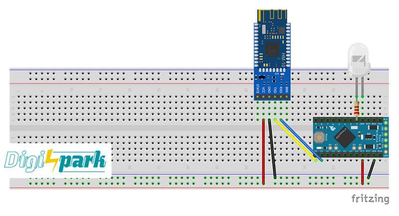 اتصالات ماژول بلوتوث hm10 به برد آردوینو Arduino
