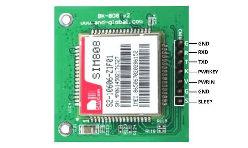 کنترل کلیه وسایل توسط مدار SMS Control و ماژول سیم کارت SIM808-دیجی اسپارک