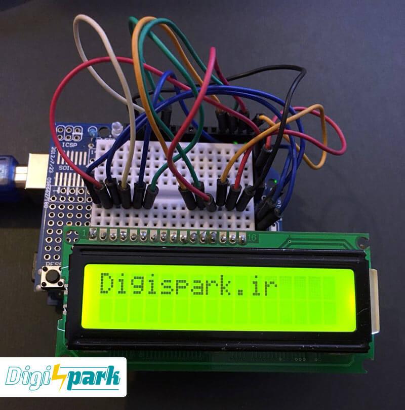 آموزش جامع کار با ال سی دی کاراکتری LCD با آردوینو