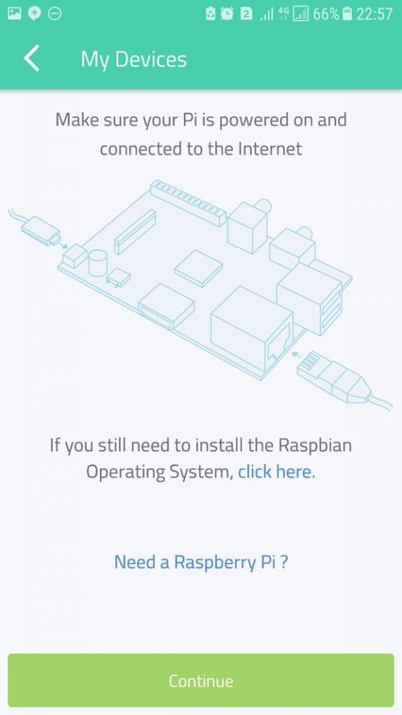 شیوه نصب اپلیکیشن Cayenne در رزبری پای - دیجی اسپارک