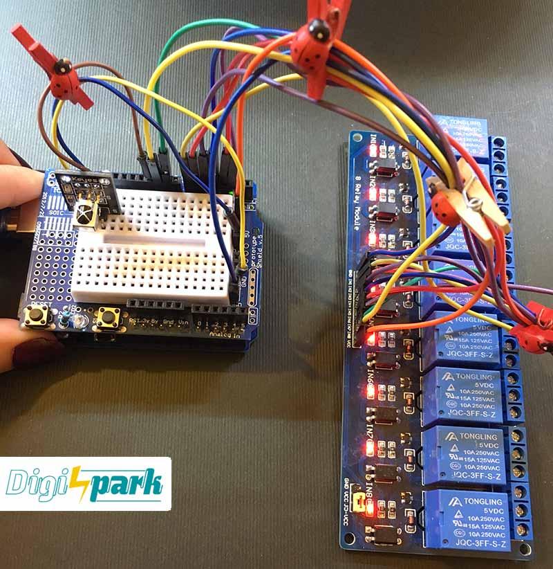 آموزش ساخت مدار کنترل وسایل برقی با ریموت IR و آردوینو - دیجی اسپارک
