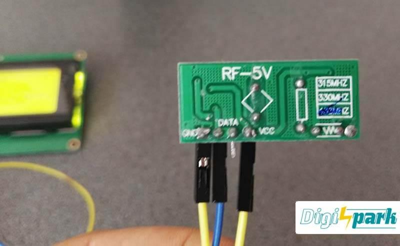 ماژول گیرنده رادیویی ASK در باند فرکانسی 433 - آموزش آردوینو Arduino -دیجی اسپارک