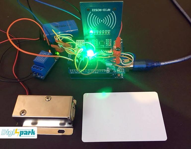 آموزش ساخت مدار دربازکن با rfid و برد آردوینو Arduino - دیجی اسپارک