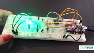 اتصال ماژول شتاب و ژایرو به برد آردوینو نانو Nano - دیجی اسپارک