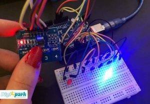 آموزش کار با ماژول تاچ پد TTP224 Touch pad module - دیجی اسپارک