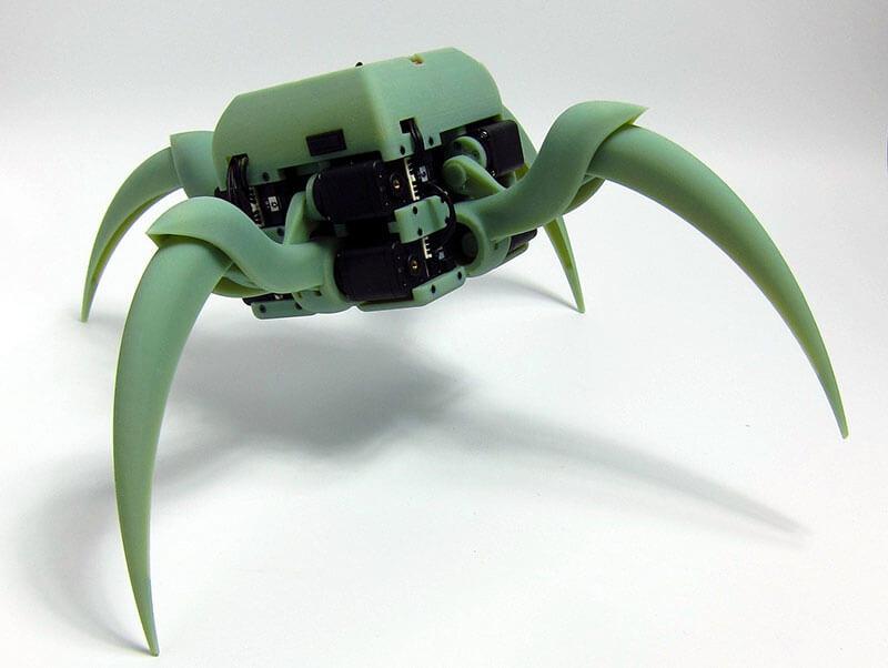 Aracna-Quadruped-robot-digispark