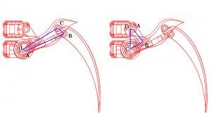 تصویر 3 بعدی اجزا ربات چهار پا آرکانا Aracna-Quadruped-robot-digispark