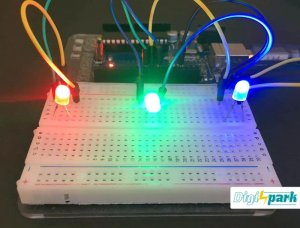 کنترل LED با GUI در پروسسینگ Processing و آردوینو - دیجی اسپارک
