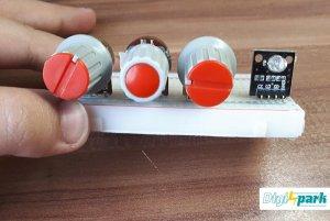 راه اندازی LED RGB با پتانسیومتر و برد آردوینو - دیجی اسپارک