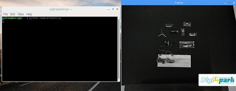 آموزش ذخیره تصویر در نرم افزار پردازش تصویر OpenCV با برد رزبری پای - دیجی اسپارک