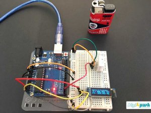 اتصال ماژول دما رطوبت DHT22 به ماژول OLED و برد آردوینو - دیجی اسپارک