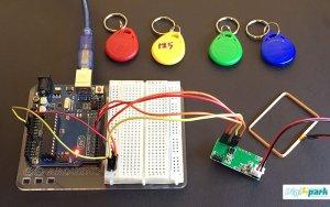 آموزش راه اندازی ماژول RFID مدل RDM6300 توسط تگ 125 کیلوهرتز - دیجی اسپارک