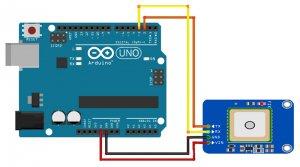gps neo6 module arduino tutorial-digispark