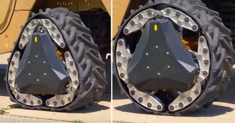 تحلیل چرخ تبدیل شونده دارپا Darpa wheel - دیجی اسپارک