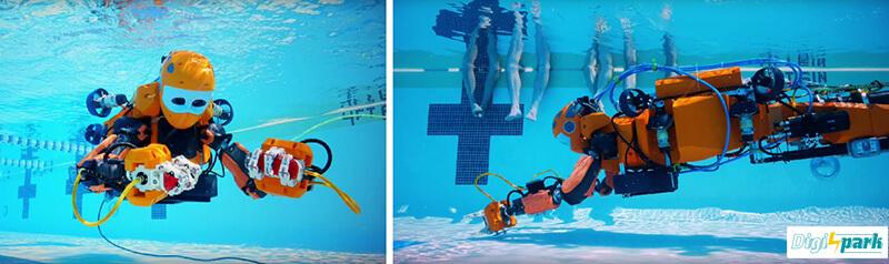 ربات زیردریایی ocean one انسان نما - دیجی اسپارک