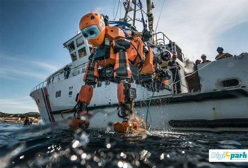 طراحی ربات انسان نما زیردریایی Ocean One - دیجی اسپارک