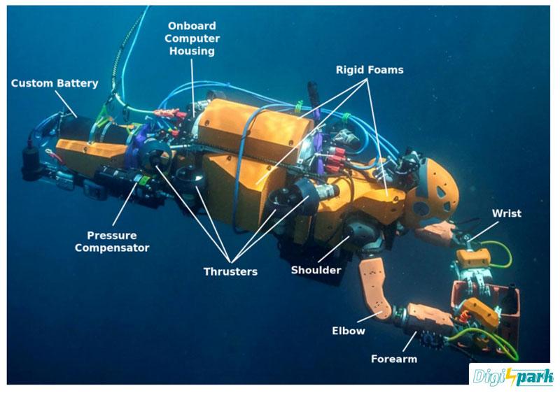 طراحی ربات زیردرایی انسان نما Ocean One - دیجی اسپارک