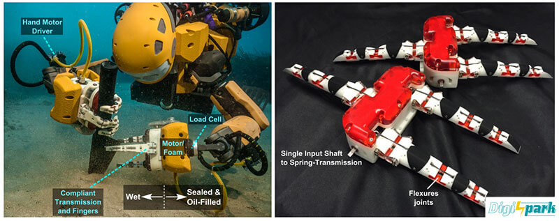 بخش فنی ربات Ocean One زیردرایی انسان نما - دیجی اسپارک