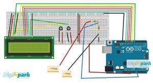 آموزش ساخت ولت متر DC با برد آردوینو - دیجی اسپارک