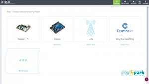 انتخاب برد در نرم افزار Cayenne ساخت گلدان هوشند - دیجی اسپارک