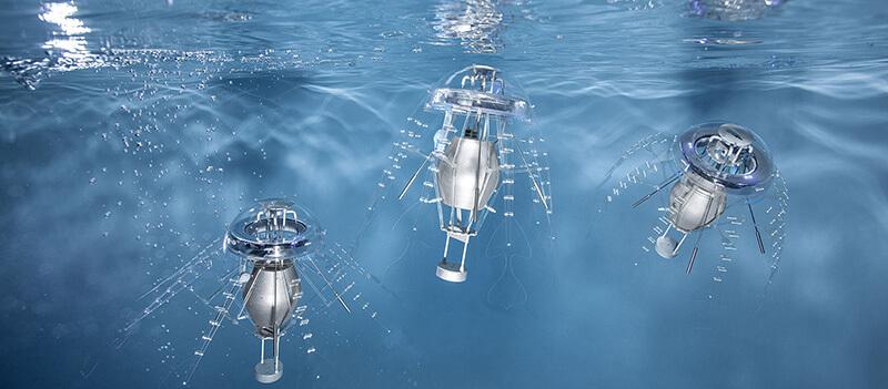 مشخصات فنی ربات عروس دریایی aquajellies روبوپدیا - دیجی اسپارک