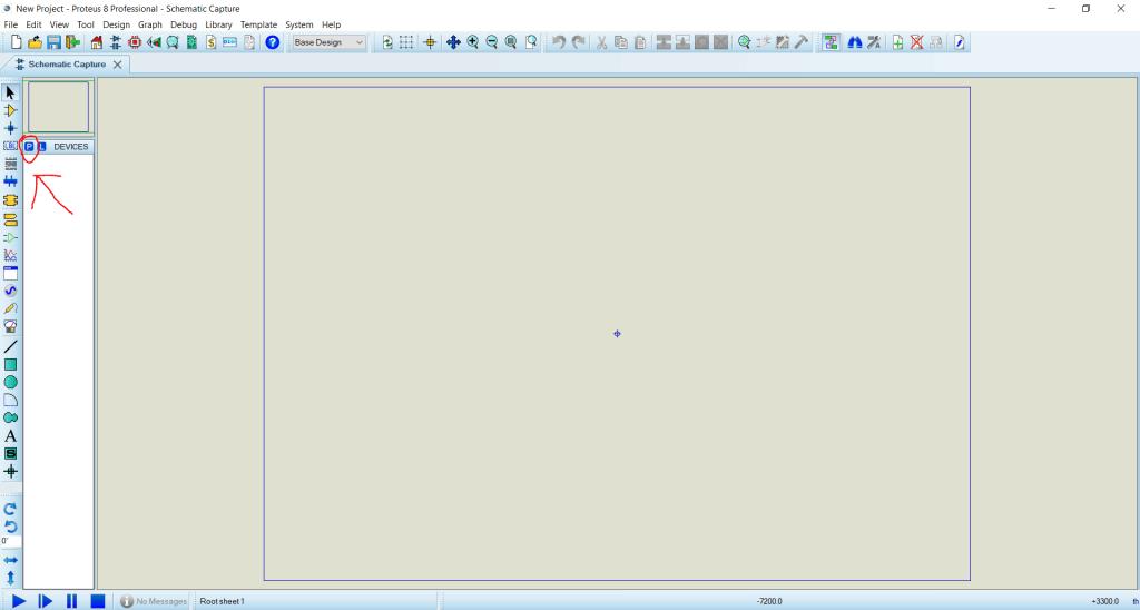 محیط نرم افزار پروتئوس Proteus - دیجی اسپارک