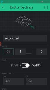 افزودن کنترل گر در اپلیکیشن بلینک Blynk app - دیجی اسپارک