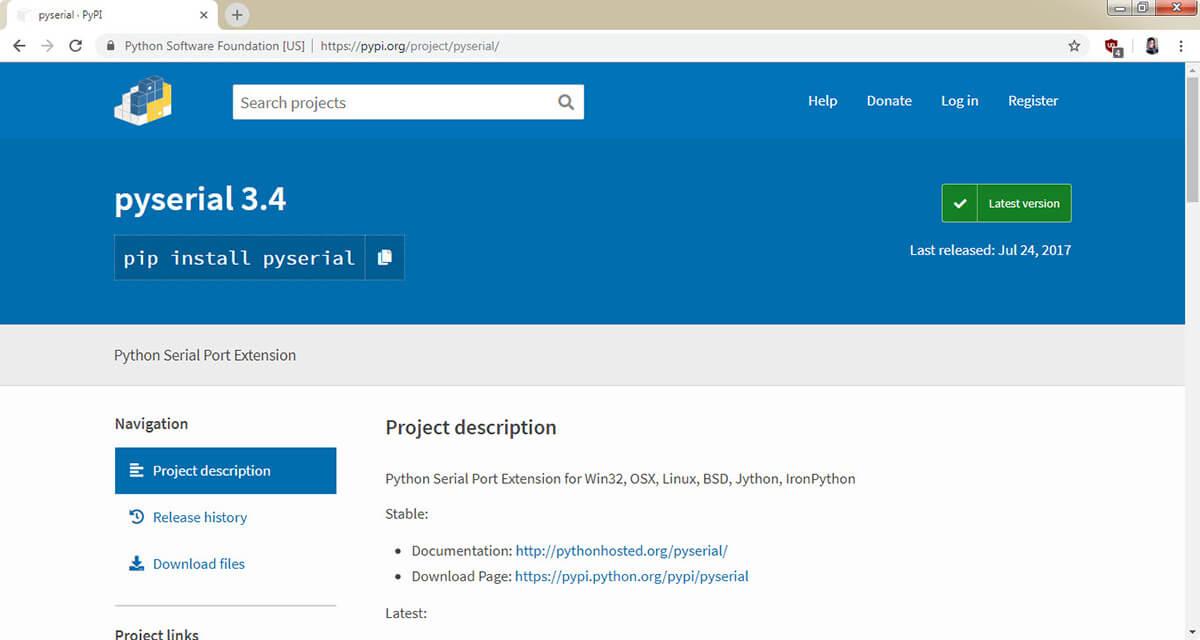 دانلود پایتون Python برای آردوینو Arduino - دیجی اسپارک