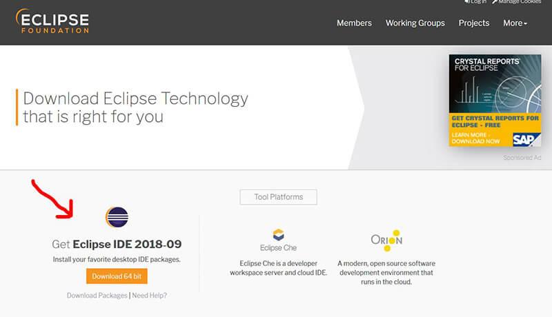 نصب Eclipse برای پایتون Python - دیجی اسپارک