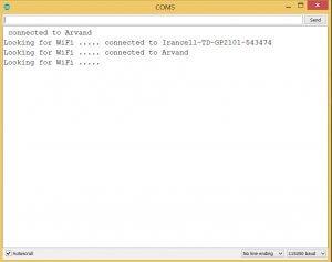 اتصال برد Nodemcu به چند مودم وای فای - دیجی اسپارک