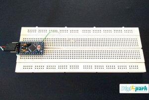 ساخت مدار تاچ خازنی با آردوینو Arduino Touch control - دیجی اسپارک
