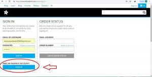 ایجاد حساب کاربری در Io.Adafruit.com -دیجی اسپارک