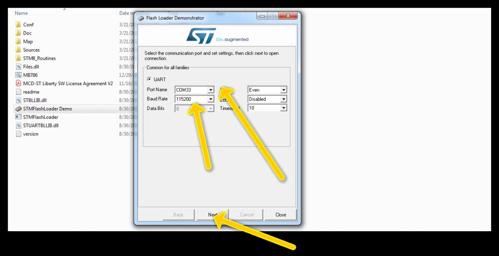 نصب درایور STM32F برای کامپایلر آردوینو - دیجی اسپارک