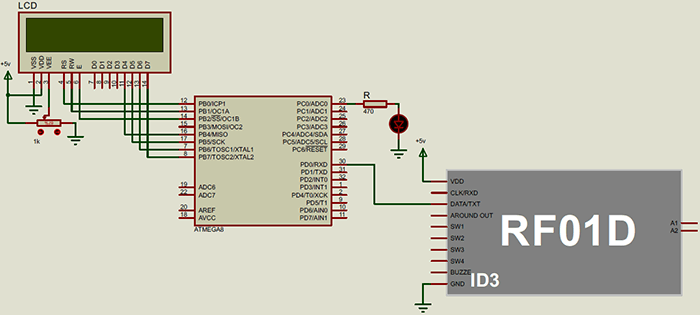 rfid with micro avr and rf01d-digispark