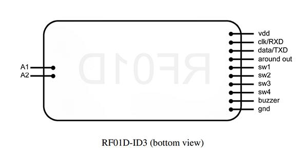 آموزش خواندن کد کارت RFID با ماژول RF01D توسط میکرو AVR با LCD