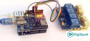 اتصالات مدار کنترل وسایل برقی با آردوینو اترنت W5100 - دیجی اسپارک