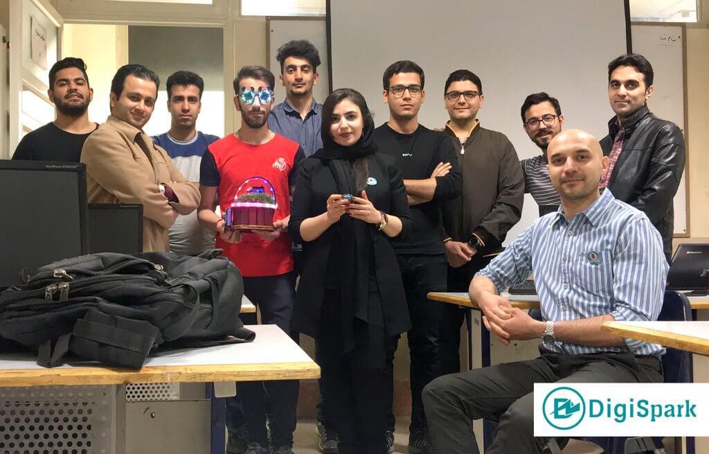 تصویر کارگاه آردوینو 24-12-97 تهران