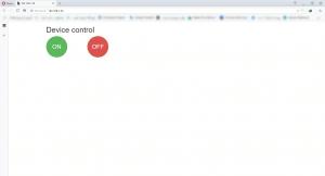 کنترل وسایل برقی با وب سرور لوکال گرافیکی - دیجی اسپارک